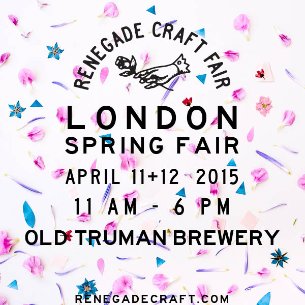 My Visit to Renegade Craft Fair in London {In Pictures}