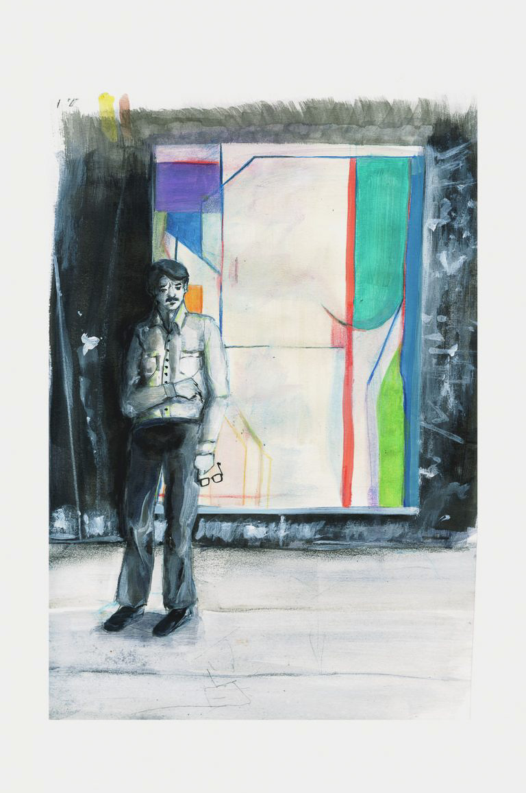An Illustrated Exhibition Guide to Richard Diebenkorn at the Royal Academy.