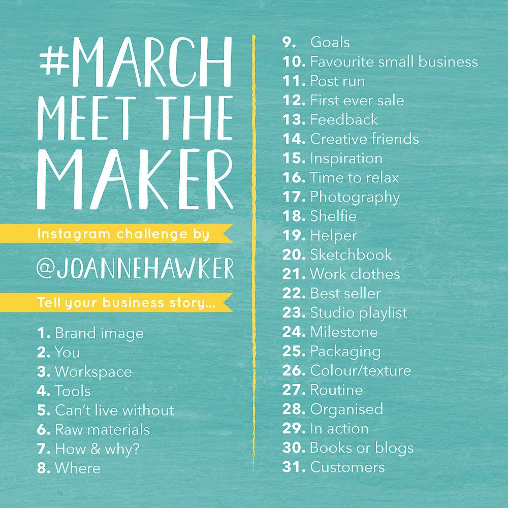 #marchmeetthechallenge Instagram Challenge Bi-Weekly Roundup