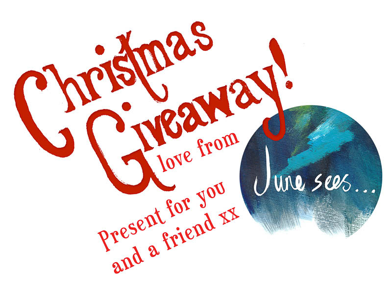 Christmas Giveaway!! Lovely present for you and a friend! xx