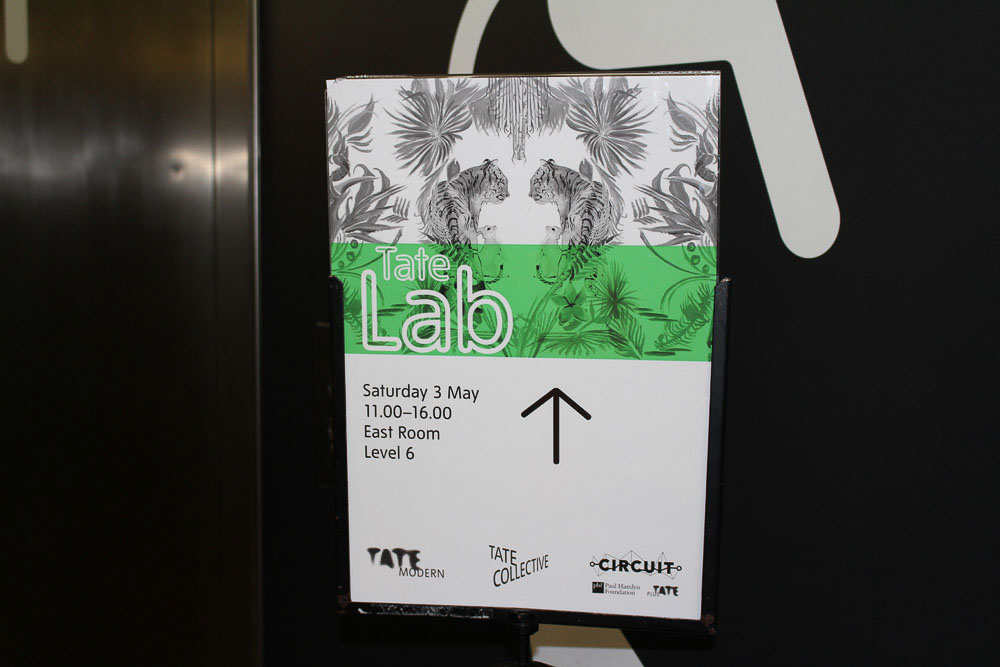 Our Vence Studio – StoryHands Tate Labs Workshop May 2014