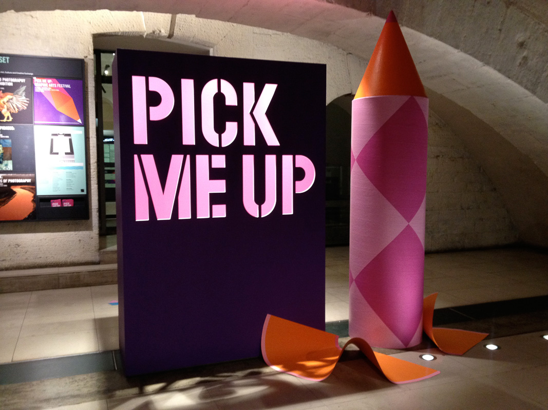 {Why don't you} Pick Me Up: Graphic Arts festival 2013 at Somerset House Exhibition Review