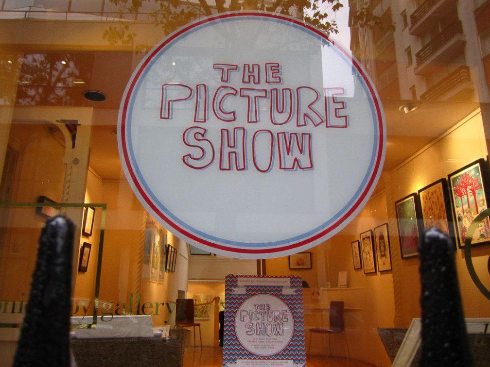 The Picture Show Illustration Exhibition is now Open!