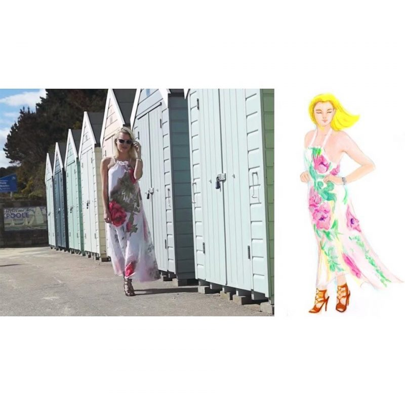 Pauper to Princess Look Book collaboration with June Sees, photo taken by June Chanpoomidole / June Sees Illustration.