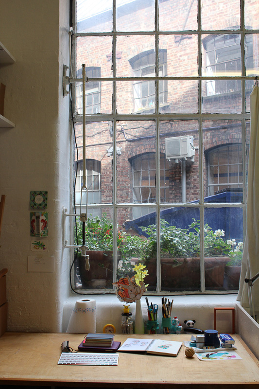 Big News – I've moved into Courtyard Studio, 38 Mount Pleasant, Central London