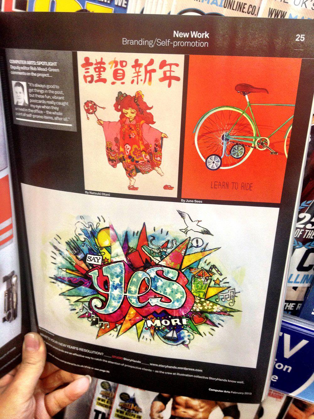 I'm in Computer Arts Magazine!