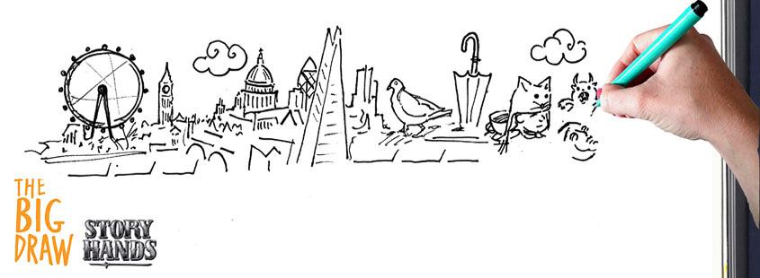 StoryHands Big Draw London Sketchbook Scavenger Hunt